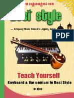 Keyboard Harmonium Lessons eBook ID-3366