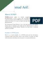 Muhammad Arif.. TCP and IP