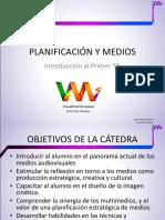 Clase1 PLANIFICACION Y MEDIOS AUDIOVISUALES