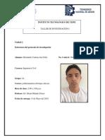 Estructura Del Protocolo de Investigacion 2