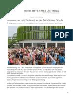 L-iz.de-europäischer Tanz-Flashmob an Der Erich Kästner-Schule
