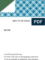 Music of the Visayas