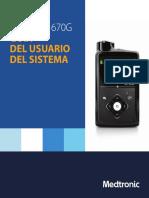 MiniMed 670G Guía Del Usuario Del Sistema