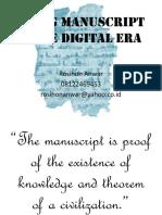 MANUSKRIP TAFSIR DI INDONESIA DAN ERA DIGITALISASI (edit).pptx
