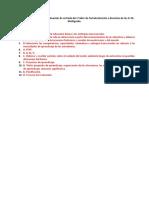 Alteranativas Evaluación de Entrada