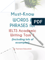 must know in ielts writing