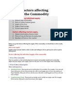 PDF Factors Affecting Supply of a Commodity-converted