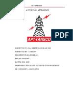 A Study on Aptransco