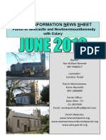June 2019 News for Parish of Newcastle & Newtownmountkennedy with Calary, Co. Wicklow, Ireland