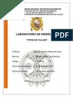Laboratorio 1 de hidraulica UNMSM