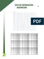 Gráfico Isoterma de Langmuir y Freundlich