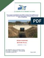 Design Report-RCC Return Wall (7.0m Height)