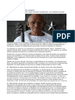 Biografía de Mahatma Gandhi