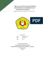 Tugas Mata Kuliah Akuntansi Forensik%%