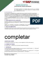 Memoria Descriptiva Puente Centenario