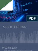 Stock Offering