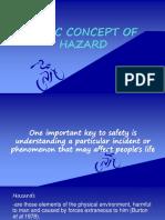 Basic Concept of Hazard