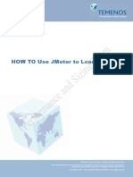 HOW to Use Jmeter to Load Test T24