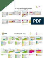 Calendar Avenor 2019_2020