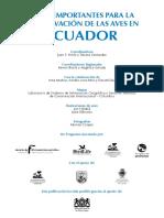 IBAs Ecuador