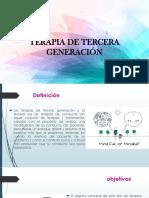Terapia de Tercera Generación