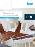 KNAUF Plasterboard Installation Guide June18 WEB
