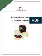 Dossier Seminario Introductorio
