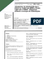 NBR+11191++PB+1439+-+Subestacoes+de+distribuicao+tipo+I-69-34+5+ou+13+8+kV+ate+5+MVA+e+34+5+kV+13+8+kV+ate+3+75+MVA+-+Diagramas