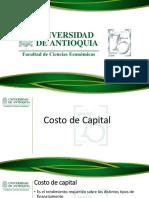 Estructura y Costo de Capital