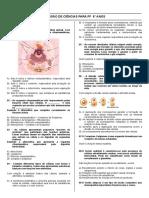 Revisão Anual de Ciências 8º Ano 1