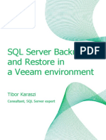 SQL Server Backup With Veeam