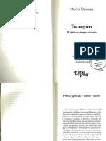 Alicia Donghi- Público y Privado