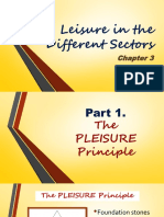 Chapter 3- Leisure in Different Sectors