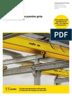 Podem - Puentes Grua y Componentes - Main Products Outline (ES)