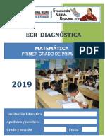Cuadernillo Matematica 1ero de Primaria 2019
