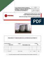 (PROD-MGMA-IT-026) Presurizar-Poner en Servicio Sist. Sulfatreat III