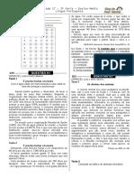 Simulado 17 - (Port. 3ª Série E.M - Blog Do Prof. Warles)