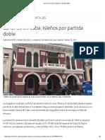 Historia de Isleños en Cuba