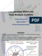 107156518-CoMFA-Comparitive-Molecular-Field-Analysis.pptx