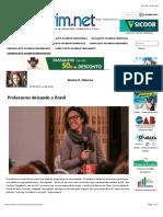 Professores Deixando o Brasil