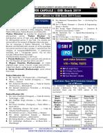 Capsule for IDBI Bank FInal 2019