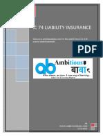 IC 74 Liability Insurance
