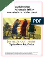 Preadolescentes Líder de Estudio Bíblico (Entrando Al Sexto y Séptimo Grados)
