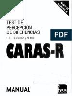 Test de Caras-R