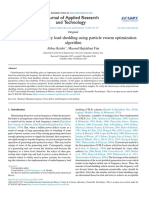 Adaptive Underfrequency Load Shedding Using Particle Swarm Optimization
