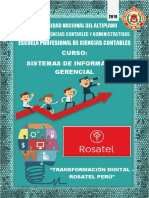 Trasformacion Digital- Rosatel Peru