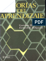 Teorias Del Aprendizaje PDF