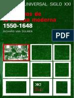 [Historia Universal Siglo XXI Número 24] Richard Van Dülmen - Los Inicios de La Europa Moderna 1550-1648 24(1984, Siglo XXI)