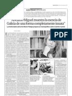 Maria Fidalgo, crítica de Arte.