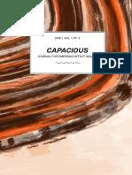 Capacious Vol 1 No 2 2018